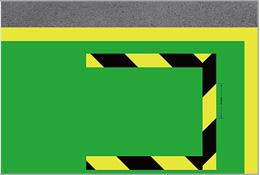 厂区装卸货定位线