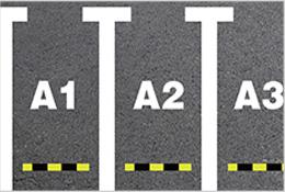 停车位标识线