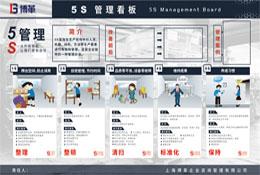 5S管理看板