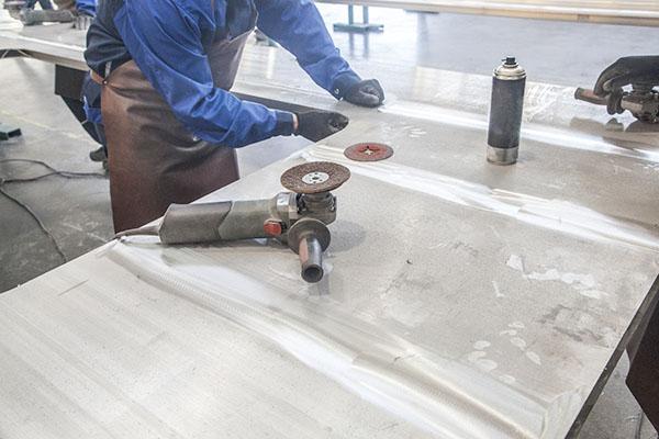 铝产品加工行业现场7S改善