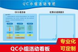 QC小组活动看板