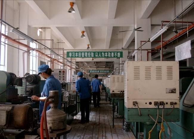 机加工行业精益布局改善